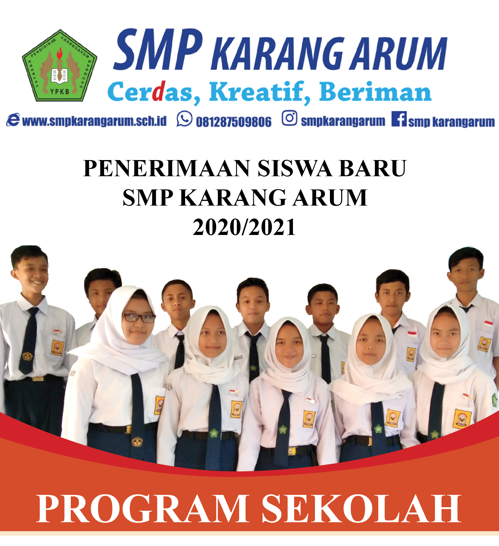 PPDB SMP Karang Arum 2021/2022