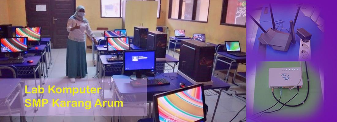 Lab Komputer SMP Karang Arum